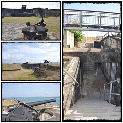 The Fort at Thursday Island