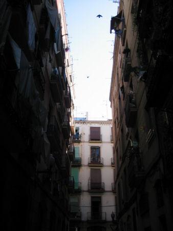 barcelona sky