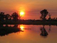 yellow waters sunset 3
