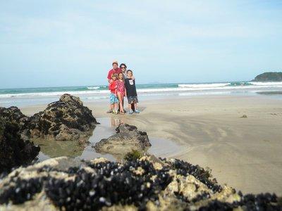 A Fun Stop on Christmas Eve- Sandy Bay