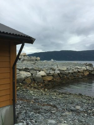 Fjord beach