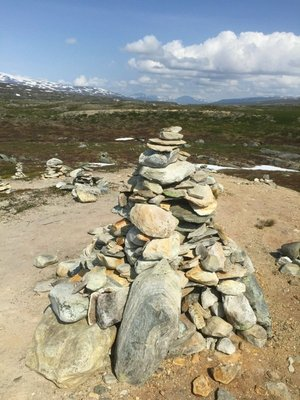 The big cairn