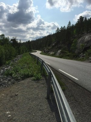 Snaking road