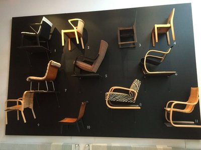 Chairs by Alvar Aalto