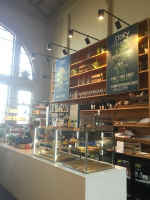 In the market - Story Coffee shop