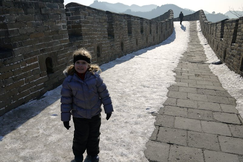 Walking on the Great Wall