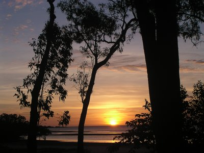 Sunset at Weipa