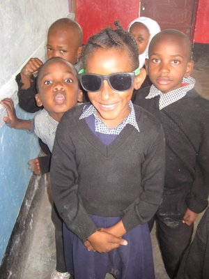Kids at Good Hope School