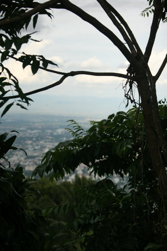 Sneak-view from monestry Doi Suthep