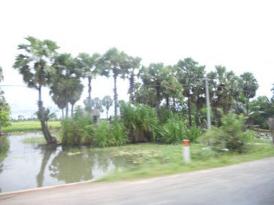 The journey from Siem Reap to Phnom Penh