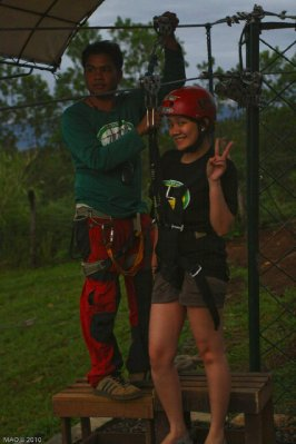 ZipZone Fortich Bukidnon Dahilayan Adventure Park
