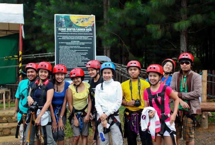 ZipZone Fortich Bukidnon Dahilayan Adventure Park