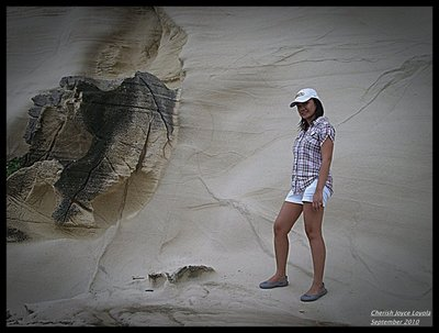 White Rock Formation - Kapurpurawan Beach
