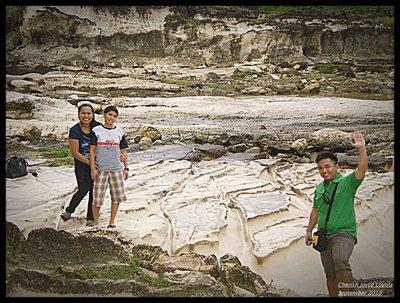 White Rock Formation - Kapurpurawan Beach
