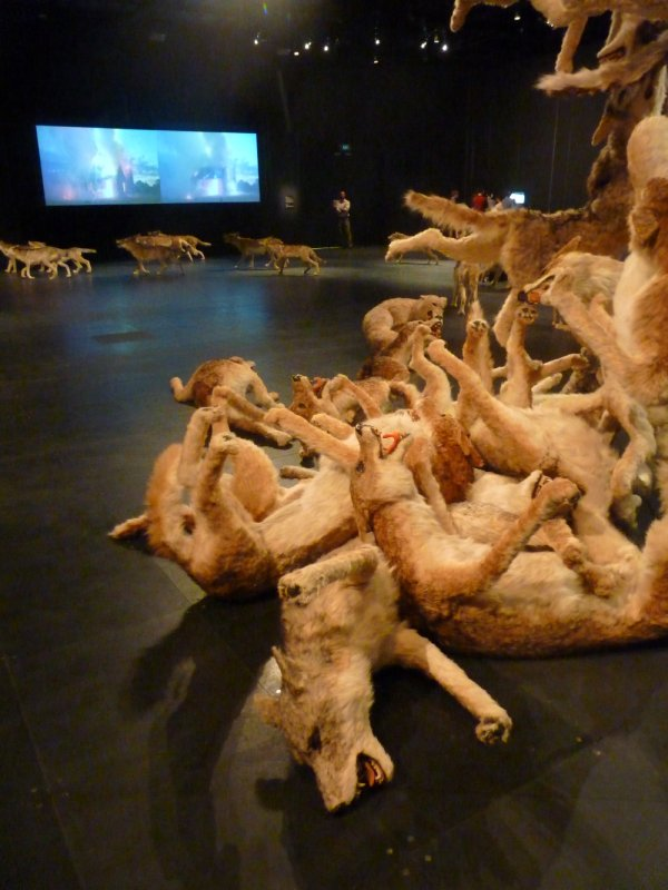 Cai Guo – Qiang: Head On, National Museum