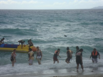 The Wave and the Banana Boat