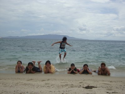 Jumping man and the Mermaids