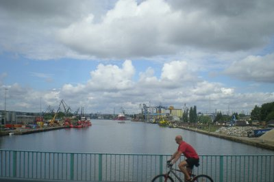 Gdansk port