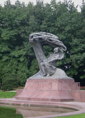 Varsovie Monument Chopin