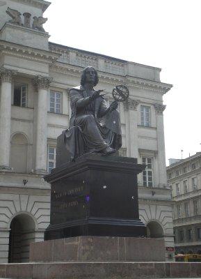 Warszawa - Varsovie - Copernic