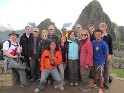 Machu Picchu: Group photo!