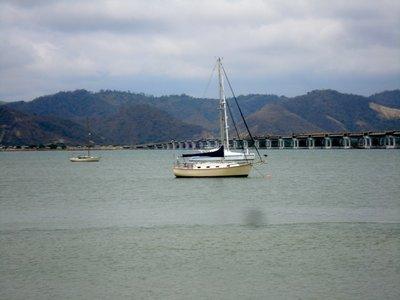 Sail boat in Bahia
