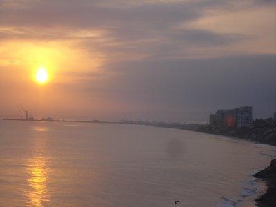 Manta sunrise