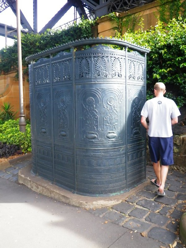 1900's Urinal in The Rocks