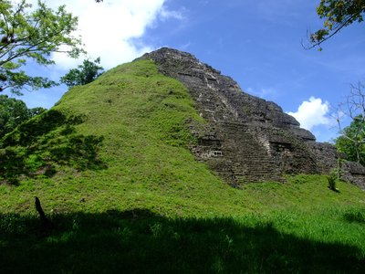 Partially Uncovered at Tikal
