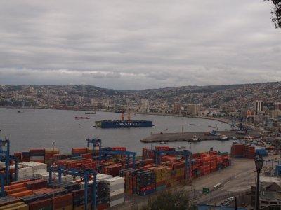 Valparaíso port