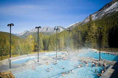 Miette Hotsprings venligst udlånt af Jasper Tourism