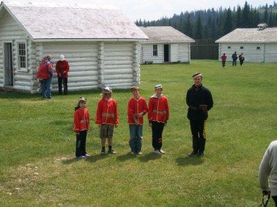 Dagens rekrutter, Fort Walsh, Saskachewan