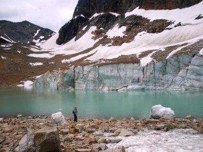 Cavell Pond og Cavell Glacier, Jasper National Park