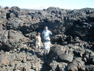 Brave cave explores, Craters of the Moon National Monument