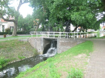Canal lock at Borculo