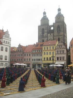 Chess-like monks in Wittenberg