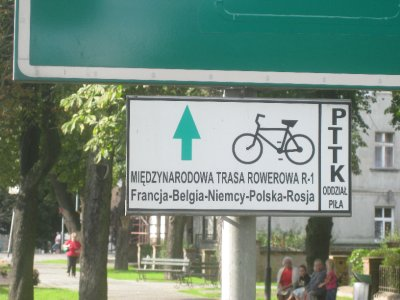 The signs I'm following in Poland