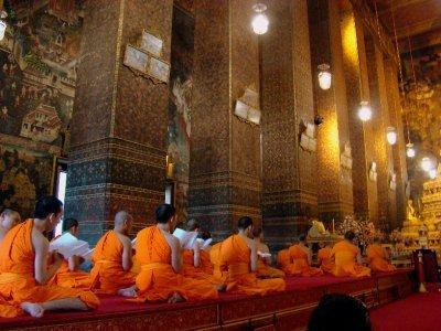 Monk. Pray. Love.