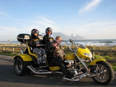 Cape Town on a trike