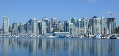 Vancouver skyline