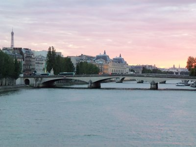 View off of the Pont des Arts