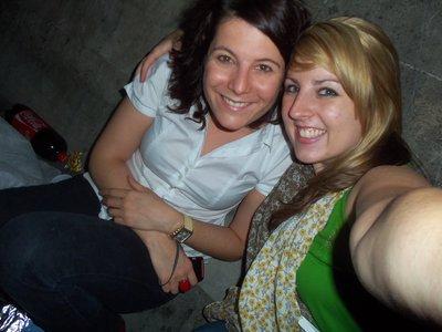 Ashlee et Morgane Quai de Tournelle