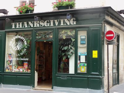 Thanksgiving Store, near Saint Paul, Paris