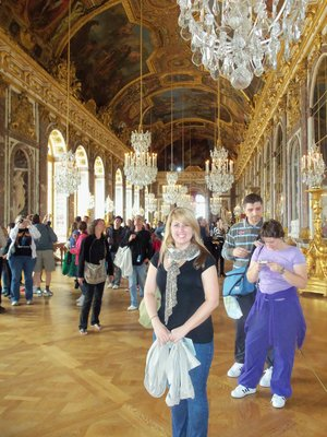Me in the Galerie des Glaces