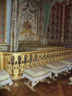 Le lit de Marie-Antoinette