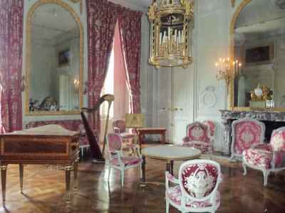 Inside the Petit Trianon
