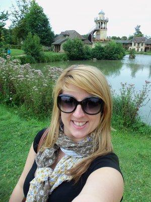 Me at Marie-Antoinette's Hameau