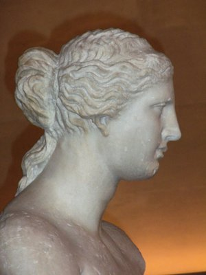 Face of the Venus de Milo