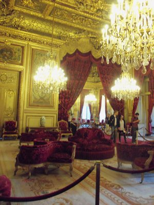 Napoleon III's Salon in the Louvre