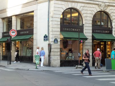 Longchamp on Rue Saint-Honore